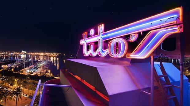 Discoteca Tito's, en Mallorca