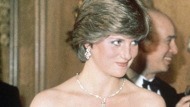 Diana, antes de ser princesa, en un evento de caridad en Londres