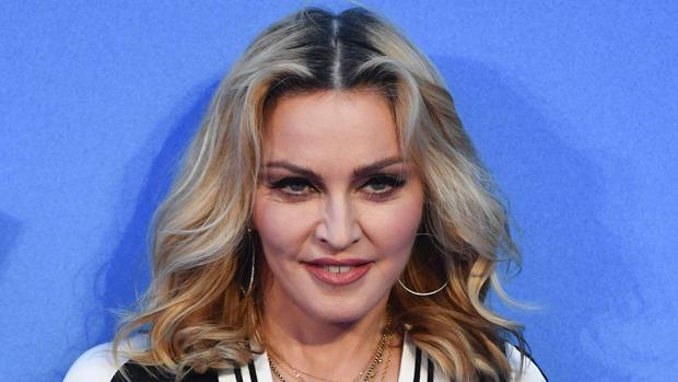 Madonna llegó a Lisboa el pasado lunes con sus hijas Estere y Estella, las gemelas que adoptó el pasado mes de febrero
