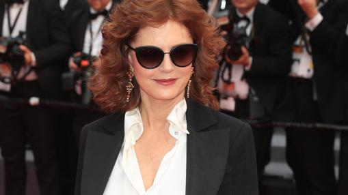 Sarandon en la alfombra roja de Cannes