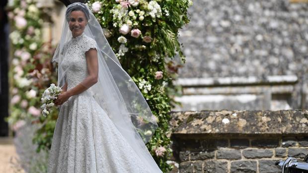 el acierto de pippa middleton a la hora de elegir su vestido de novia
