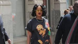 Rihanna, por las calles de Nueva York