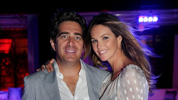 Elle Macpherson y su novio