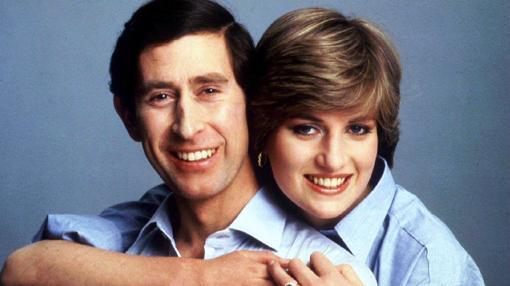 Imagen de Diana y Carlos, antes de casarse