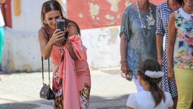 Paula Echevarría reaparece sin Bustamante y vuelve a ser el centro de las miradas