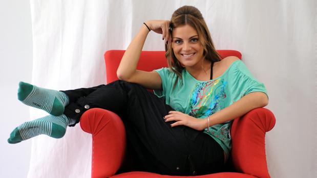 Un posado de la actriz en 2008