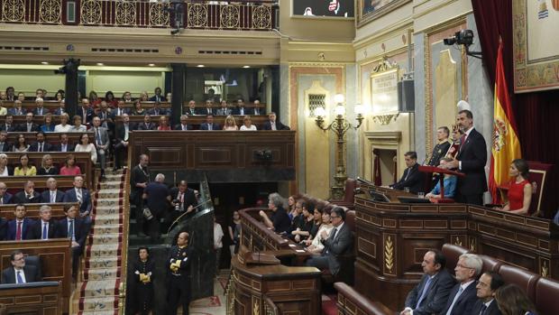 El Rey: «Ningún camino debe llevar a dividir a los españoles»