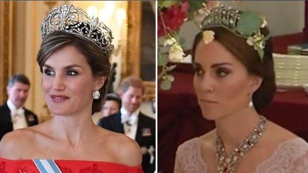 La Reina Letizia y Kate Middleton