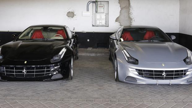 Ferraris pertenecientes al Rey Don Juan Carlos, que subastará Hacienda