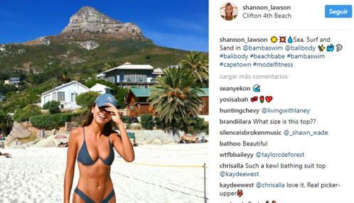 Shannon Lawson muestra su nueva adquisición