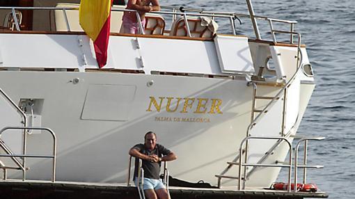 El yate «Nufer II» de Fernando Fernández Tapias