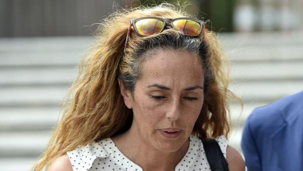 Rocío Carrasco a la salida del juicio por la custodia de su hijo
