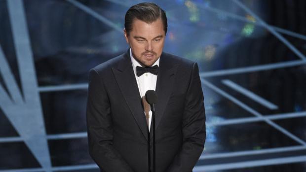 Leonardo DiCaprio en los Óscar