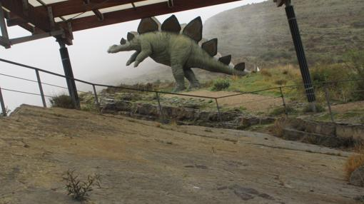 Allí se conservan algunas de las huellas de dinosaurio más desconocida