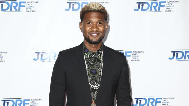 El cantante Usher