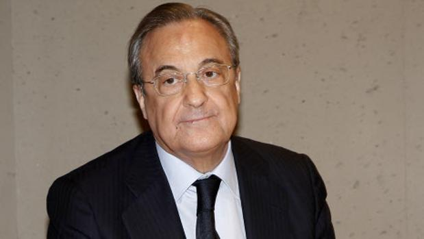 El presidente del Real Madrid