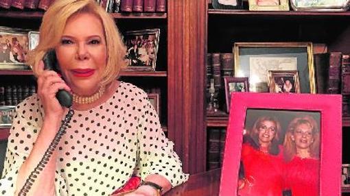 Dodero en su casa de Buenos Aires