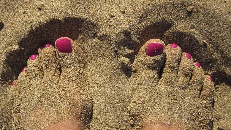 Ingredientes caseros para unos pies a prueba de sandalias
