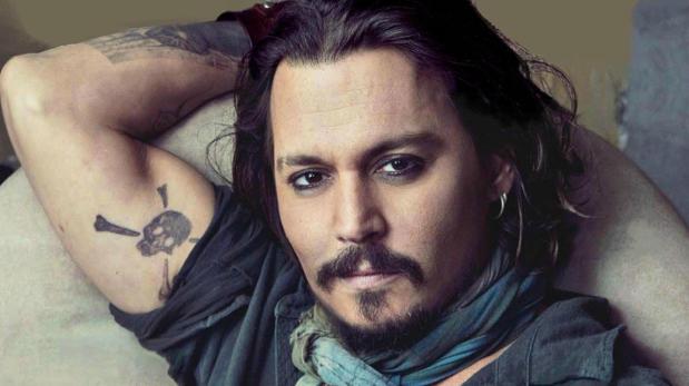 El actor de «Piratas del Caribe» en el año 2015