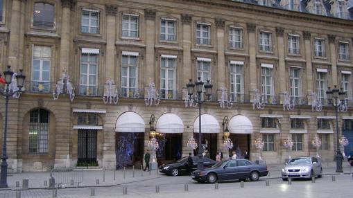 Hotel Ritz de París, propiedad de la familia Al Fayed