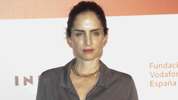 Adriana Carolina Herrera durante los premios Telva Solidaridad 2017