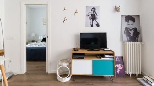 Otra de las estancias del icónico apartamento