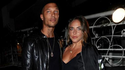 Jeremy Meeks y Chloe Green en West Hollywood