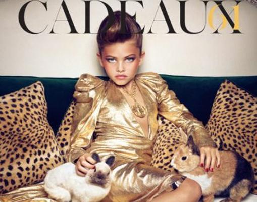 La modelo Thylane Blondeau