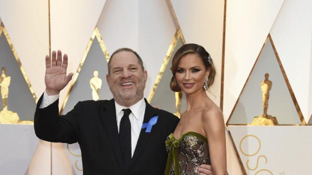 Harvey Weinstein y su mujer, Georgina Chapman