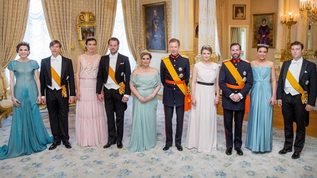 Resultado de imagen para familia gran ducal de luxemburgo