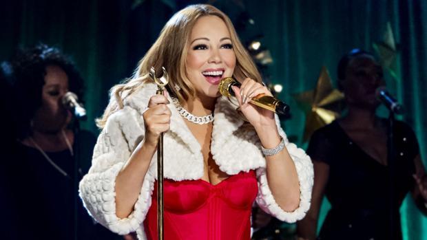 Mariah Carey, el año pasado, durante el concierto de fin de año