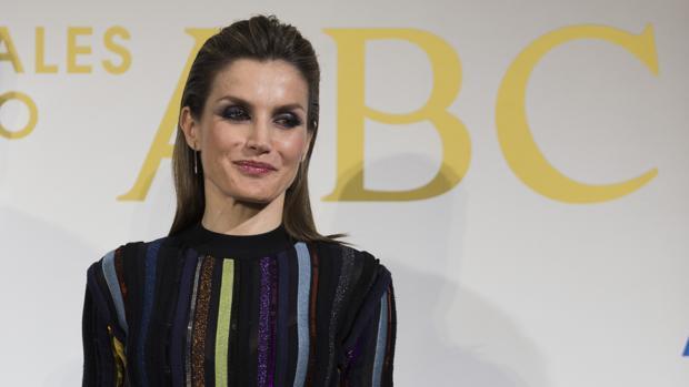 Doña Letizia en los premios ABC de periodismo