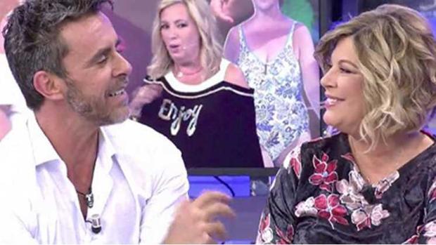 Alonso Caparrós y Terelu Campos