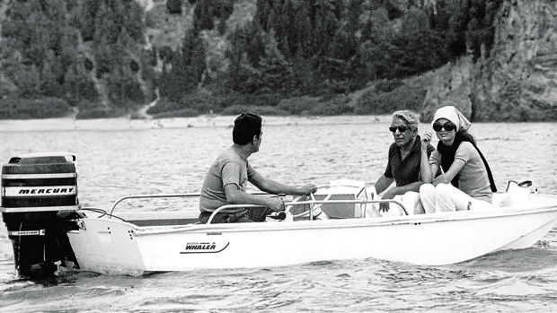 Aristoteles Onassis y Jackie Kennedy