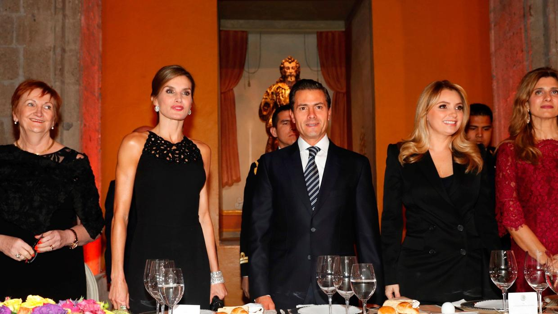 La cena de bienvenida que hizo bailar a Doña Letizia con el cantante de The Black Eyed Peas en México