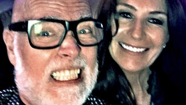 Gary Goldsmith y su mujer