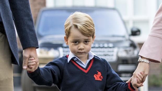 El príncipe Jorge de Inglaterra