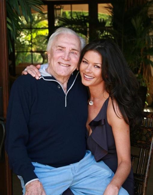Catherine y Kirk Douglas