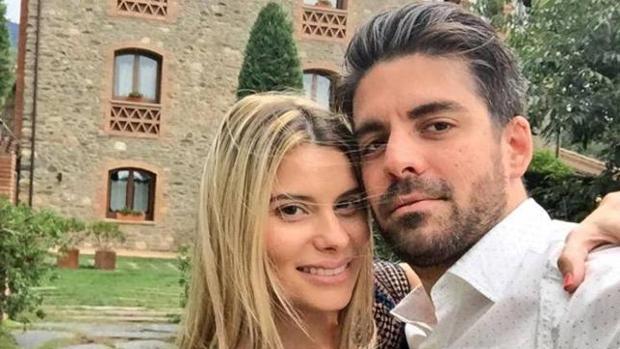 María Lapiedra y Mark Hamilton