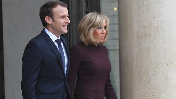 Brigitte y Macron