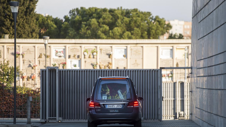 La misa de incineración de Carmen Franco y Polo se produce en la más estricta intimidad