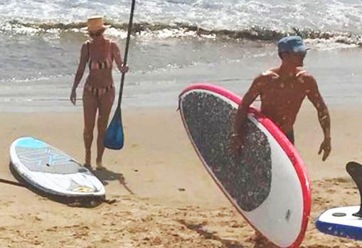 Orlando Bloom y Katy Perry disfrutando de unas vacaciones en las islas Maldivas