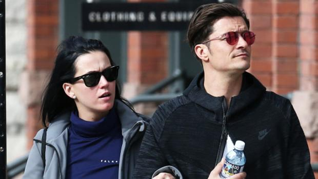 Orlando Bloom junto a Katy Perry