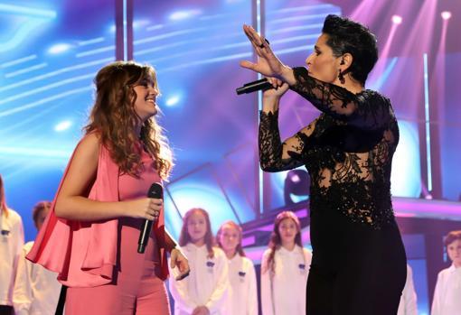 Rosa cantó en «Operación Triunfo 2017» con Amaia, en la que todos ven a su sucesora