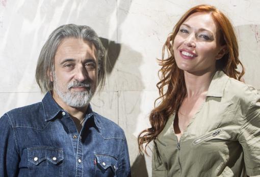 El chef junto a su expareja Silvia Fominaya