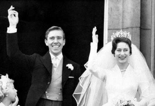 La boda de Antony Armstrong-Jones y la princesa Margarita