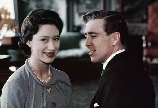 Antony Armstrong-Jones y la princesa Margarita