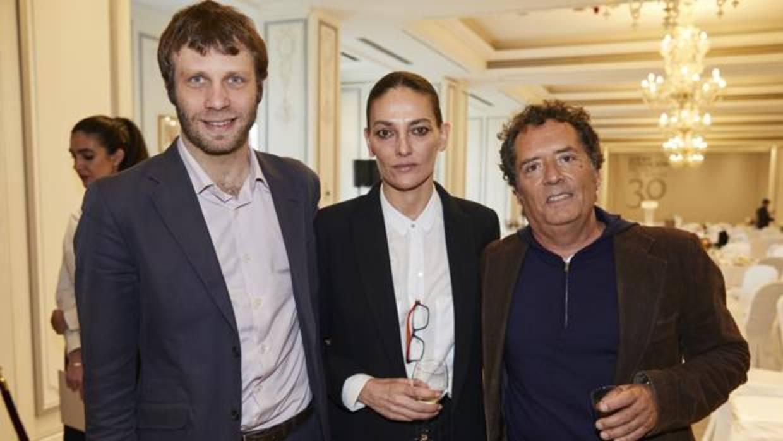 Laura Ponte, feliz tras dos años junto al poeta Pedro Letai