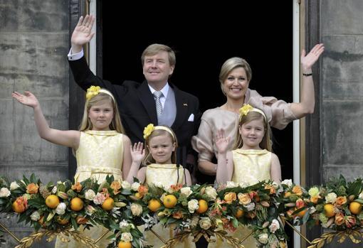 Amelia, Ariadna y Alexia de los Países Bajos