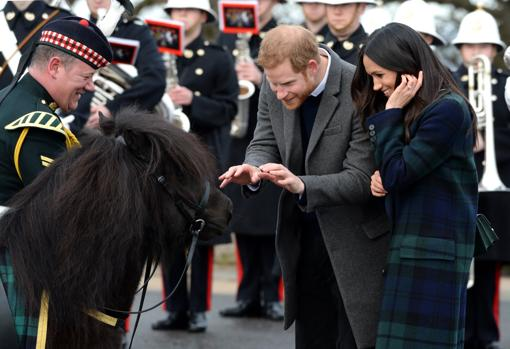 Con el príncipe Harry en Escocia